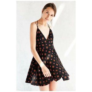 Urban Outfitters Ecote Clementine Black Plunging